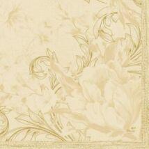 Duni szalvéta Charm cream 3rtg 33x33cm 12x20db/gyűjtő