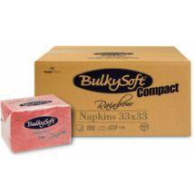 BulkySoft rainbow compact szalvéta piros 1rtg 33x33cm 6x500db/gyűjtő