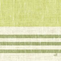 Duni szalvéta Raya kiwi 3rtg 33x33cm 4x250db/gyűjtő