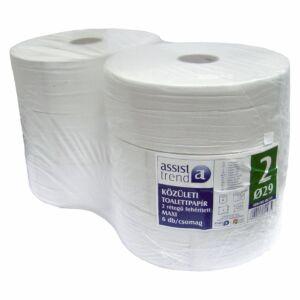 Trend maxi toalettpapír 2rtg M9,5 D29 400m 2000lap fehérített 6tek/gyűjtő