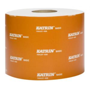 Katrin basic system kistekercses toalettpapír 1rtg M10 D13,5 918lap 114,75m rec 36tek/gyűjtő