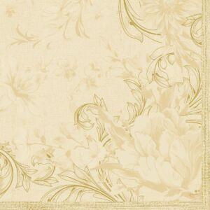 Dunisoft szalvéta Charm cream 40x40cm 12x12db/gyűjtő