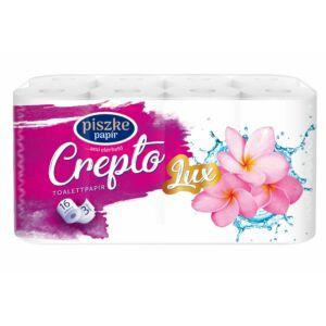 Crepto Lux kistekercses toalettpapír 3rtg M9,5 D10,8 17,25m150lap cell 4x16tek/gyűjtő