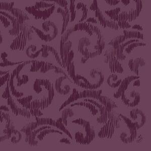 Dunilin szalvéta Saphira plum 40x40cm 12x45db/gyűjtő