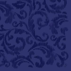Dunilin szalvéta Saphira dark blue 40x40cm 12x45db/gyűjtő