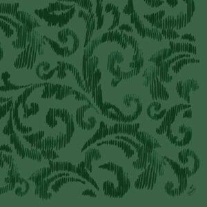 Dunilin szalvéta Saphira dark green 40x40cm 12x45db/gyűjtő