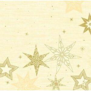 Dunisoft szalvéta Star stories cream 40x40cm 6x60db/gyűjtő