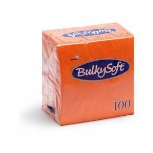 BulkySoft rainbow szalvéta narancs 2 rétegű 24x24cm 30x100db/gyűjtő