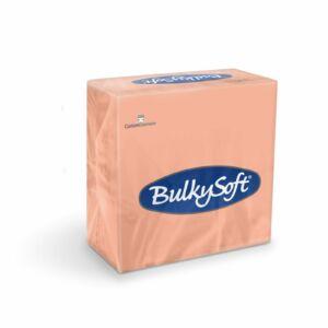 BulkySoft rainbow szalvéta lazac 2rtg 33x33cm 20x100db/gyűjtő