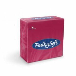 BulkySoft rainbow szalvéta bordó 2rtg 33x33cm 20x100db/gyűjtő