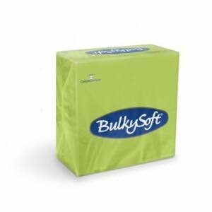 BulkySoft rainbow szalvéta kivi 2rtg 33x33cm 20x100db/gyűjtő