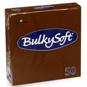 BulkySoft rainbow szalvéta barna 2rtg 33x33cm 24x50db/gyűjtő