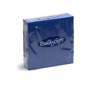 BulkySoft rainbow plus szalvéta kék 2rtg 38x38cm 36x40db/gyűjtő
