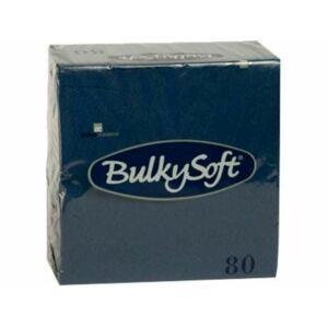 BulkySoft rainbow szalvéta kék 3  rétegű 33x33cm, 20x80db/gyűjtő