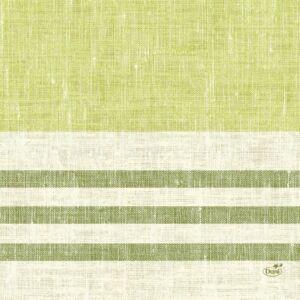 Duni szalvéta Raya kiwi 3 rétegű 33x33cm 4x250db/gyűjtő