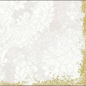Duni szalvéta Royal white 3rtg 40x40cm 4x250db/gyűjtő