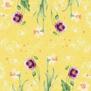 Duni classic szalvéta Spring lilies 4 rétegű 40x40cm 6x50db/gyűjtő