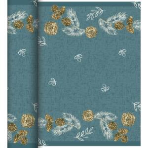 Dunicel Téte-a-Téte asztali futó Pine cones 0,4x24m 4tek/gyűjtő