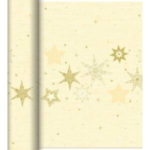 Dunicel Téte-a-Téte asztali futó Star stories cream 0,4x24m 4tek/gyűjtő