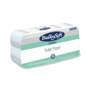 BulkySoft comfort kistekercses toalettpapír 2rtg 250lap 29m fehérített 12x8tek/gyűjtő