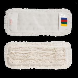 VDM zsebes hurkolt mop fehér 40x11 cm