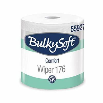 BulkySoft comfort ipari törlőpapír 2rtg M24 D26 800lap 176m fehérített 2tek/gyűjtő