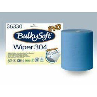BulkySoft premium ipari törlőpapír kék 2rtg M26 D26,5 800lap 304m cell 2tek/gyűjtő
