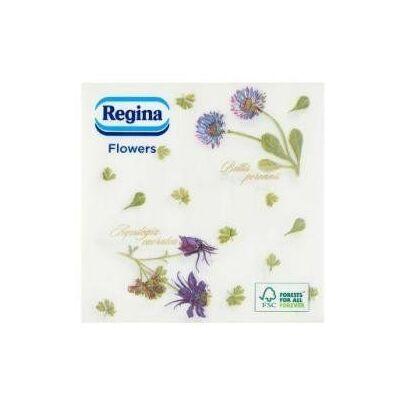 Regina Virág mintás szalvéta százszorszép, pitypang 1rtg 33x35cm 20x60db/gyűjtő