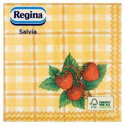 Regina Salvia kevert szalvéta 1rtg 33x33cm 24x45db/gyűjtő
