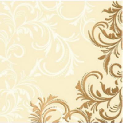 Duni szalvéta Grace cream 3 rétegű 33x33cm 12x20db