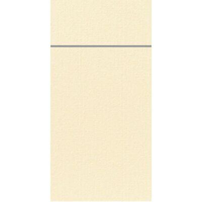 Duniletto evőeszköztartó szalvéta krém 48x40cm 4x46db/gyűjtő