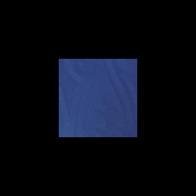 Duni Elegance szalvéta Lily darkblue 40x40cm 6x40db/gyűjtő
