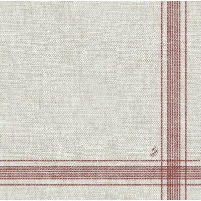 Dunilin szalvéta Cocina bordeaux 40x40cm 12x45db/gyűjtő