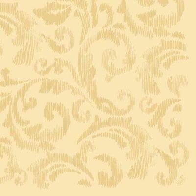 Dunilin szalvéta Saphira cream 40x40cm 12x45db/gyűjtő