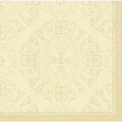 Dunilin szalvéta Opulent cream 40x40cm 12x45db/gyűjtő