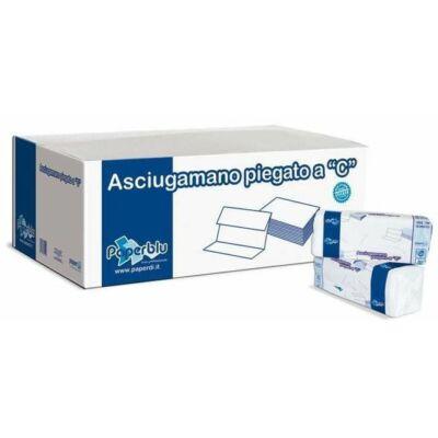 C Hajtogatott kéztörlő 2rtg cell  23x33 cm 150 lap/csomag 24cs/karton