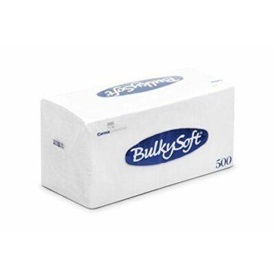 BulkySoft compact szalvéta fehér 1rtg 30x30cm 10x500db/gyűjtő