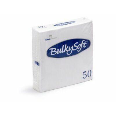 BulkySoft szalvéta fehér 2rtg 33x33cm 40x50db/gyűjtő