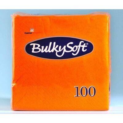 BulkySoft rainbow szalvéta narancs 2rtg 38x38cm 20x100db/gyűjtő