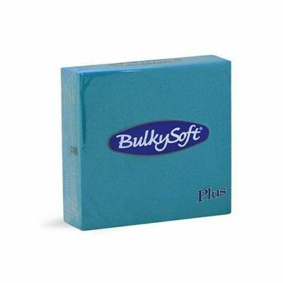 BulkySoft rainbow plus szalvéta caribean blue 2rtg 38x38cm 36x40db/gyűjtő
