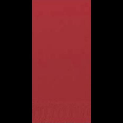 Duni szalvéta piros 3rtg 33x33cm 1/8 4x250db/gyűjtő