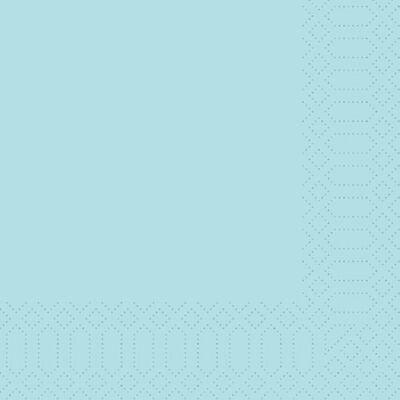 Duni szalvéta Mint blue 3rtg 40x40cm 4x250db/gyűjtő