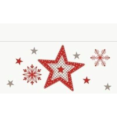 Duni szalvéta Cozy winter 2rtg 33x33cm 1/8 4x300db/gyűjtő