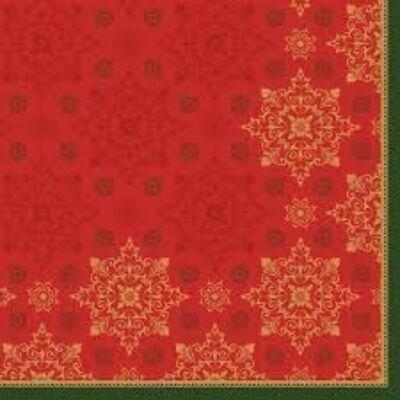 Duni szalvéta Xmas Deco red 3rtg 24x24cm 20x50db/gyűjtő