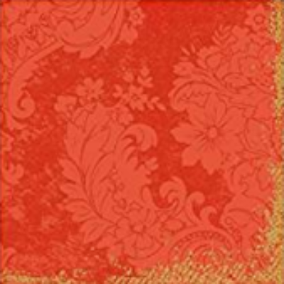 Duni szalvéta Royal mandarin 3rtg 33x33cm 4x250db/gyűjtő