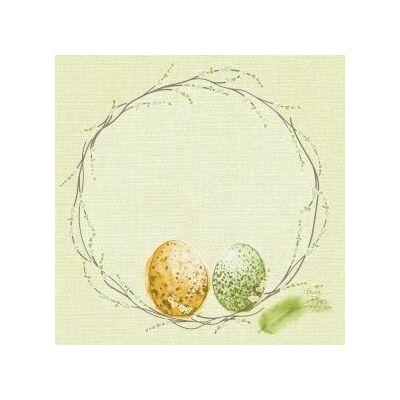Duni szalvéta Easter pasture 3rtg 33x33cm 4x250db/gyűjtő
