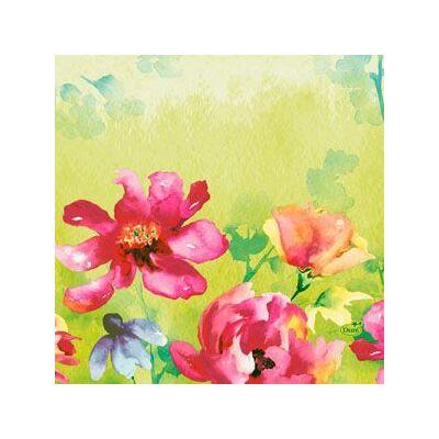 Duni szalvéta Garden joy 3rtg 33x33cm 4x250db/gyűjtő