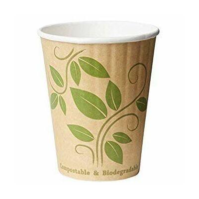 Duni Ecoecho dupla falú thermo pohár mintás 350ml 16x35db/gyűjtő