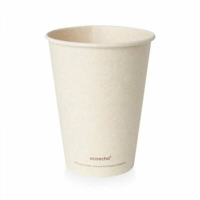 Duni Bagasse kávéspohár Sweet barna 350ml 18x50ml/gyűjtő