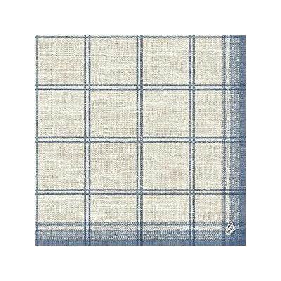 Duni szalvéta Linus Classic Blue 3rtg 40x40cm 4x250db/gyűjtő